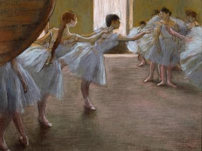 Ballet Rehearsal, 1885-1890 by Edgar Degas