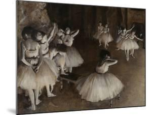 Ballet Rehearsal, c.1874 by Edgar Degas