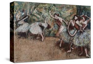 Ballet Scene, about 1907 by Edgar Degas