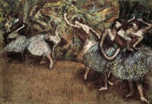 Ballet Scene by Edgar Degas