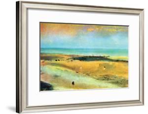 Beach at Low Tide by Edgar Degas