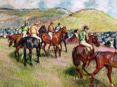 Before the Race, C.1893 by Edgar Degas