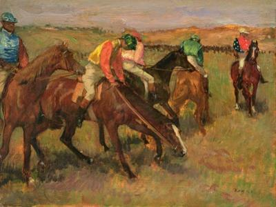 Before the Races, C.1882 by Edgar Degas