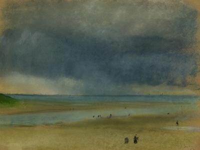 Beside the Sea, 1869 by Edgar Degas