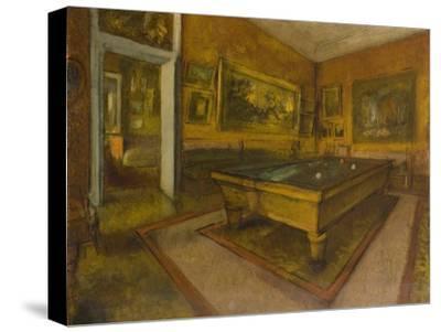 Billiard Room at M'nil-Hubert