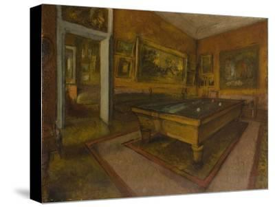 Billiard Room at Ménil-Hubert, 1892
