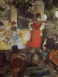 Cafe Concert at Les Ambassadeurs, 1875/77 by Edgar Degas