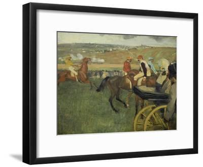 Carriage at the Races, 1877-1878
