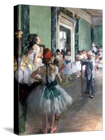 Dance Class, 1874