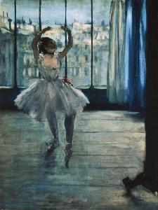 Dancer at the Photographer's Studio by Edgar Degas