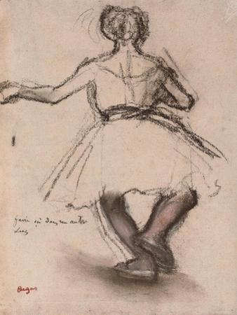 Dancer, Back View by Edgar Degas