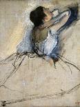 Dancers in Blue, c.1895-Edgar Degas-Giclee Print