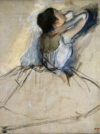 Dancer, C. 1874 by Edgar Degas