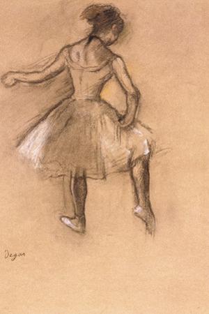 Dancer, C.1880 by Edgar Degas