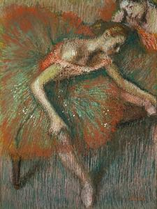 Dancer, Circa 1899 by Edgar Degas