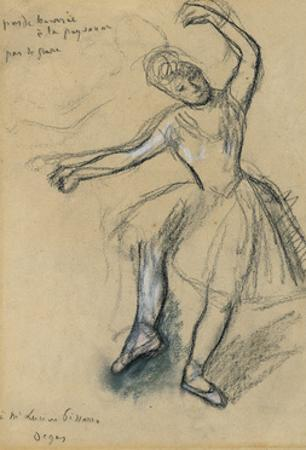 Dancer; Danseuse, 1880s by Edgar Degas