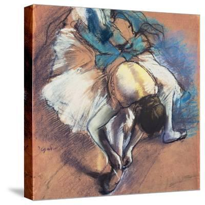 Dancer Fastening Her Pump, C.1880-85 by Edgar Degas