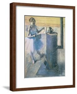 Dancer Reading the Newspaper, C. 1880 by Edgar Degas