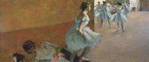 Dancers Ascending a Staircase, C. 1886-1888 by Edgar Degas