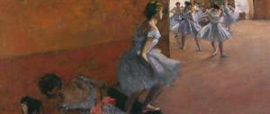 Dancers Ascending a Staircase, c.1886 by Edgar Degas