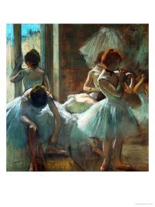 Dancers at Rest, 1884-1885 by Edgar Degas