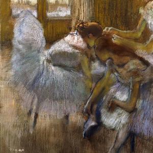 Dancers at Rest, C.1885 by Edgar Degas
