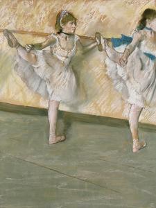 Dancers at the Bar, circa 1877-79 by Edgar Degas