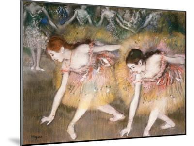 Dancers Bowing, 1885 by Edgar Degas