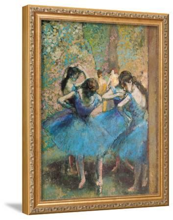 Dancers in Blue, c.1895
