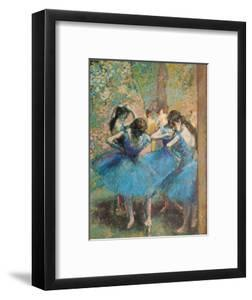 Dancers in Blue, c.1895 by Edgar Degas