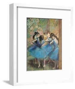 Dancers in Blue, c.1895 by Edgar Degas