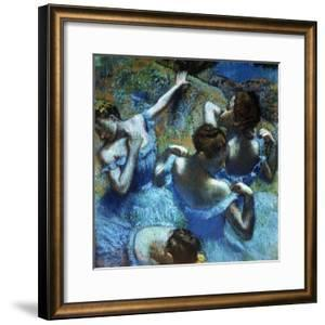 Dancers in Blue, C1898 by Edgar Degas