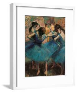 Dancers in Blue (Danseuses Bleues) by Edgar Degas