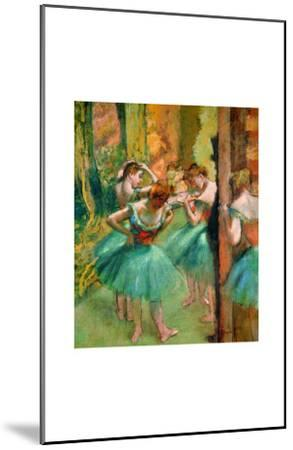 Dancers in Pink and Green by Edgar Degas