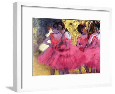 Dancers in Pink, Between the Scenes