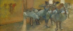 Dancers in the Foyer, about 1889 by Edgar Degas