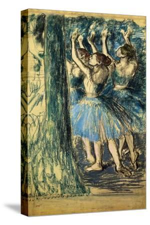 Dancers in the Scene; Danseuses En Scene, C. 1898