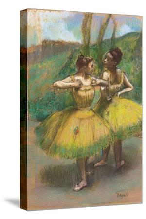 Dancers with Yellow Dresses; Danseuses Jupes Jaunes, C.1896