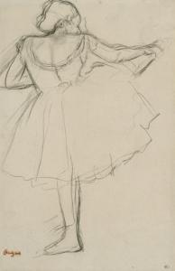 Danseuse à la barre by Edgar Degas