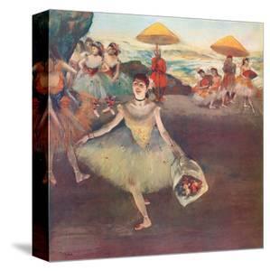 Danseuse au Bouquet Saluant by Edgar Degas