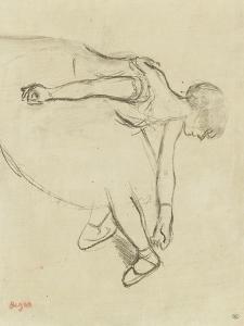 Danseuse en quatrième position by Edgar Degas