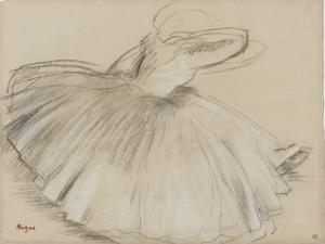 Danseuse penchée en avant by Edgar Degas