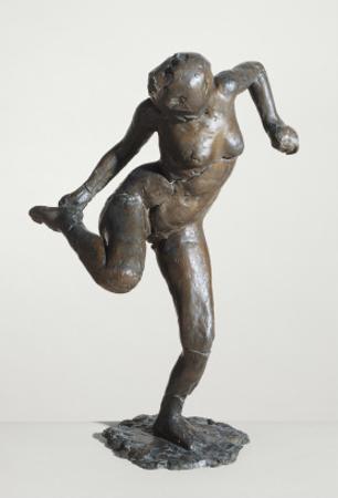 Danseuse regardant la plante de son pied droit; troisième étude by Edgar Degas