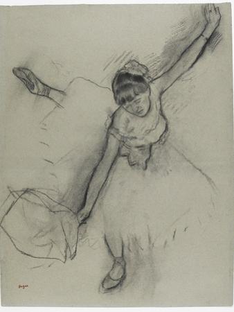 Danseuse saluant by Edgar Degas