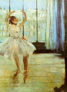 Danseuses a la Fenetre by Edgar Degas