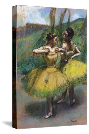 Danseuses Jupes Jaunes (Deux Danseuses En Jaun)