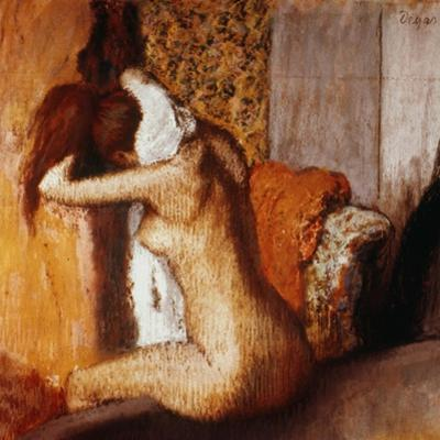 Degas: After The Bath by Edgar Degas