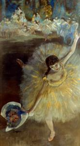 Degas: Arabesque, 1876-77 by Edgar Degas