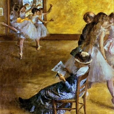 Degas: Ballet Class, C1878