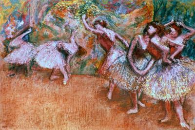 Degas: Ballet Scene by Edgar Degas